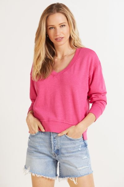 Camila V Neck Sweatshirt