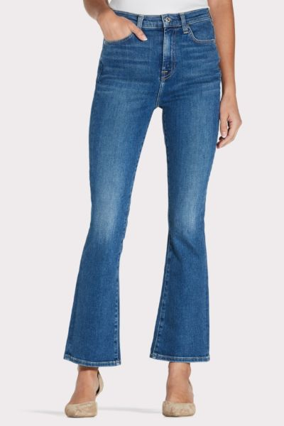 7 for all mankind High Waist Slim Kick Tall Inseam