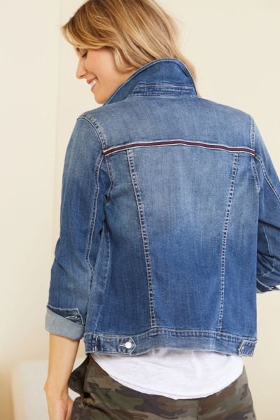 Level 99 June Vintage Denim Jacket