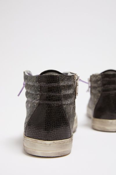 P448 Metallic High Top Sneaker