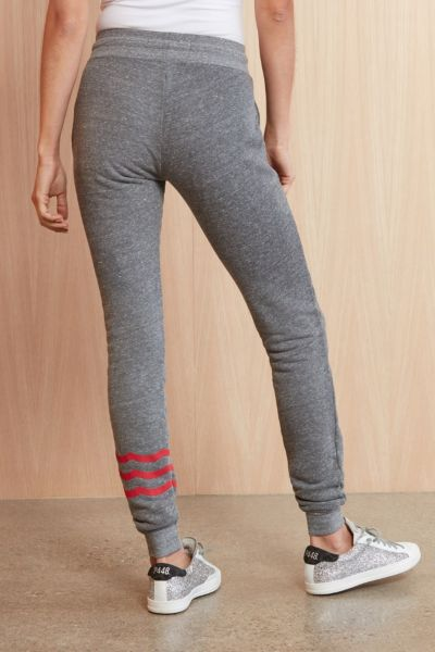 Sol angeles Red Waves Jogger