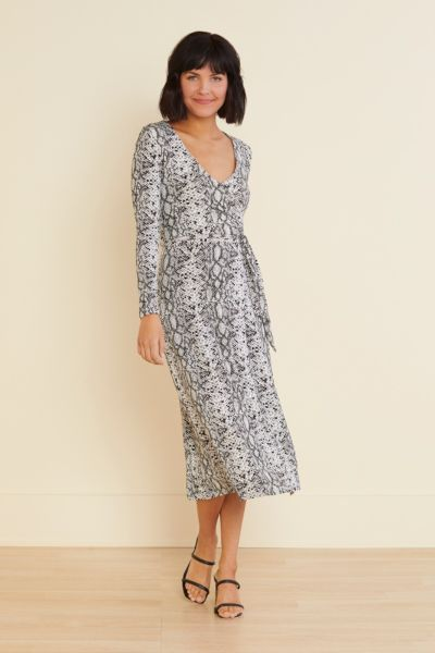 Good american The Runaround Wrap Dress