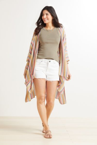 Sadie Multi Stripe Wrap