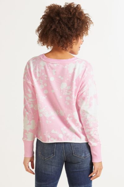 Roan + ryan Aiden Paint Splatter Pullover