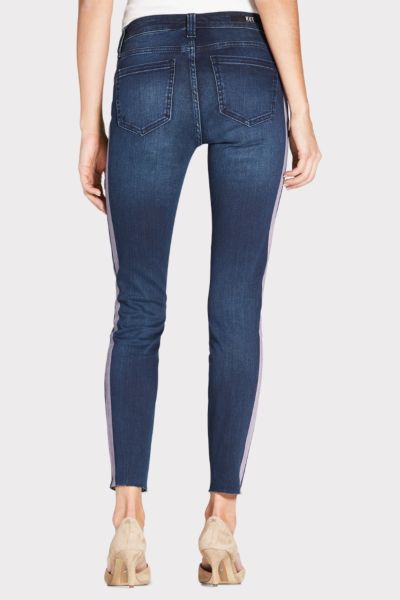 Kut from the kloth Connie Ankle Skinny with Raw Hem