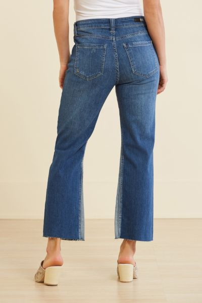 Kut from the kloth Petite High Waist Kelsey Ankle Flare