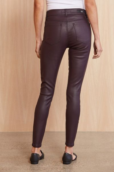 Kut from the kloth Coated Connie High Rise Skinny
