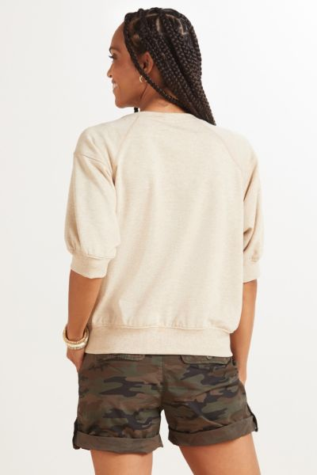 Roan + ryan Hazel Short Sleeve Pullover