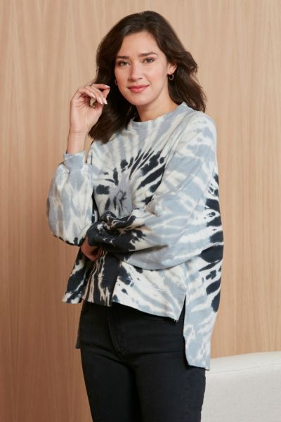 Electric  and rose Neil Spiral Sweatshirt