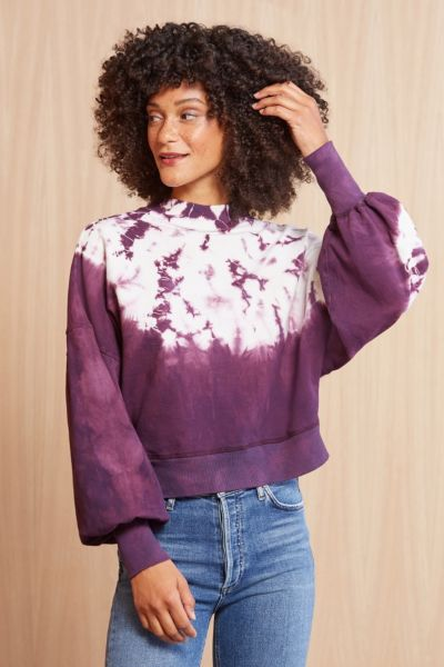 Electric  and rose Dakota Shore Pullover
