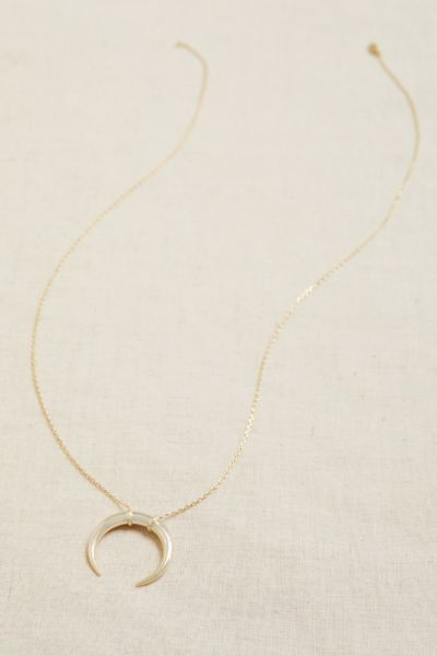 Marley Crescent Pendant Necklace