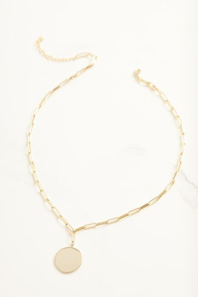 Evereve Tori Paperclip Chain Necklace