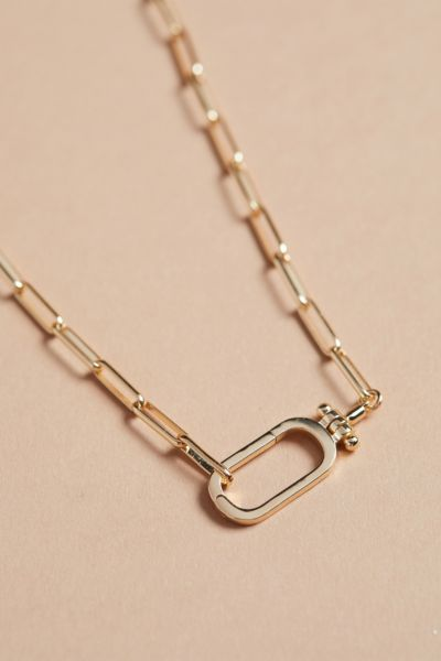 Thirty-nine 42 Josie Paperclip Chain Necklace
