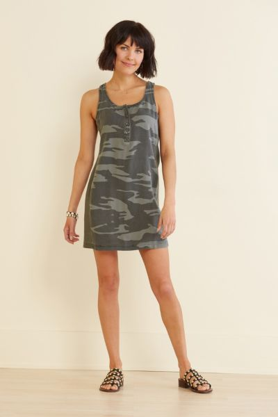 Splendid Camo Promenade Dress
