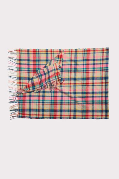 Harriet isles Melly Plaid Scarf