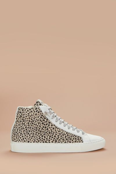 Leopard High Top Sneaker