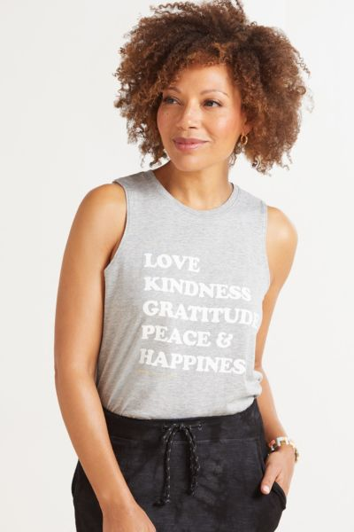 Spiritual gangster Happiness Muscle Tank