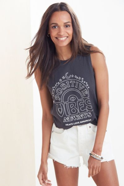 Spiritual gangster Positive Vibes Only Tank
