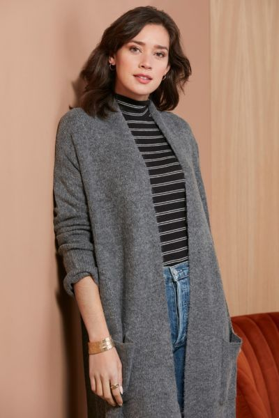 Stitches and stripes Racer Stripe Cardigan