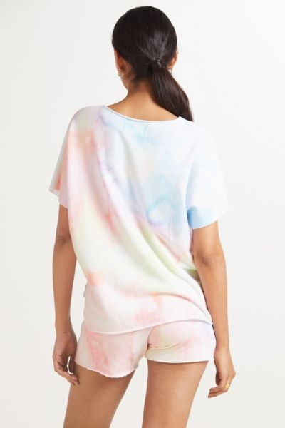 Sol angeles Watercolor Slouch Pullover