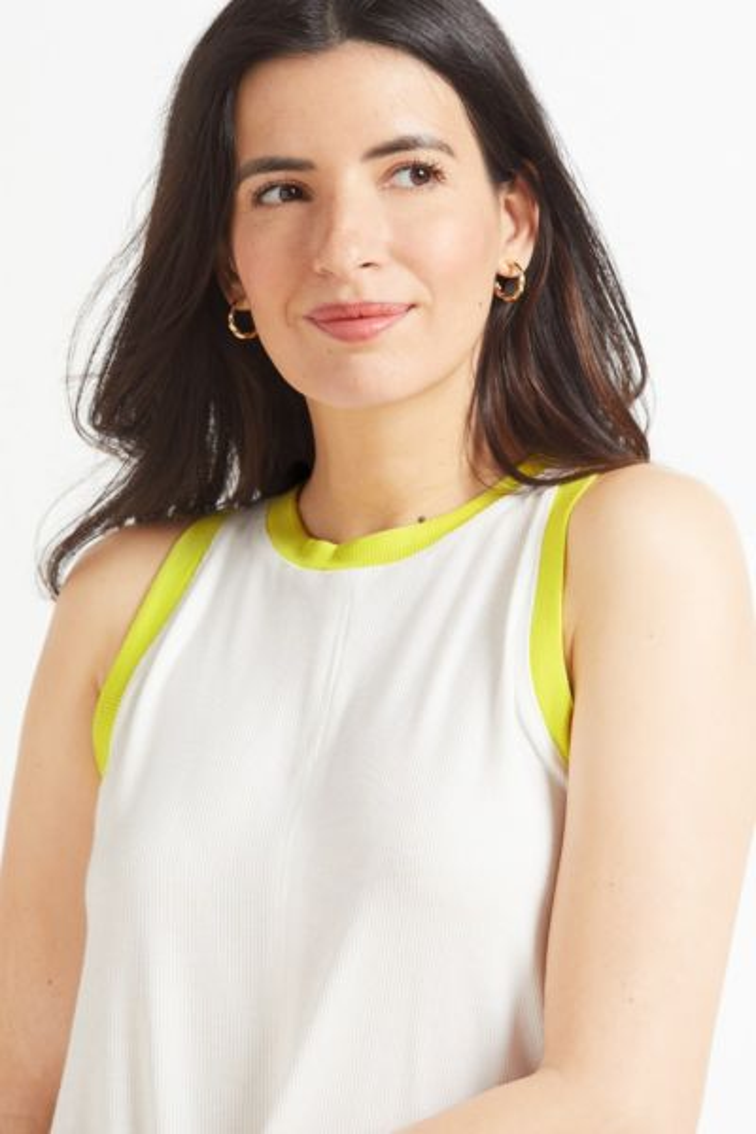 Peyton jensen Cecelia Neon Contrast Tank