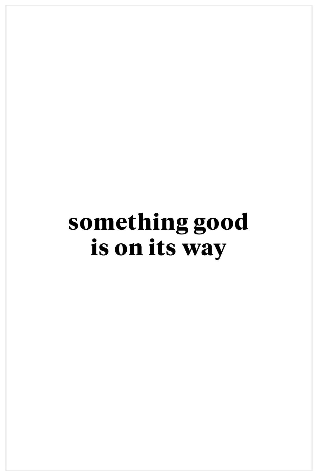Allison joy Modern Floral Wrap Top