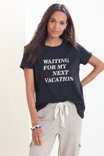 Waiting for My Next Vacation Tee
