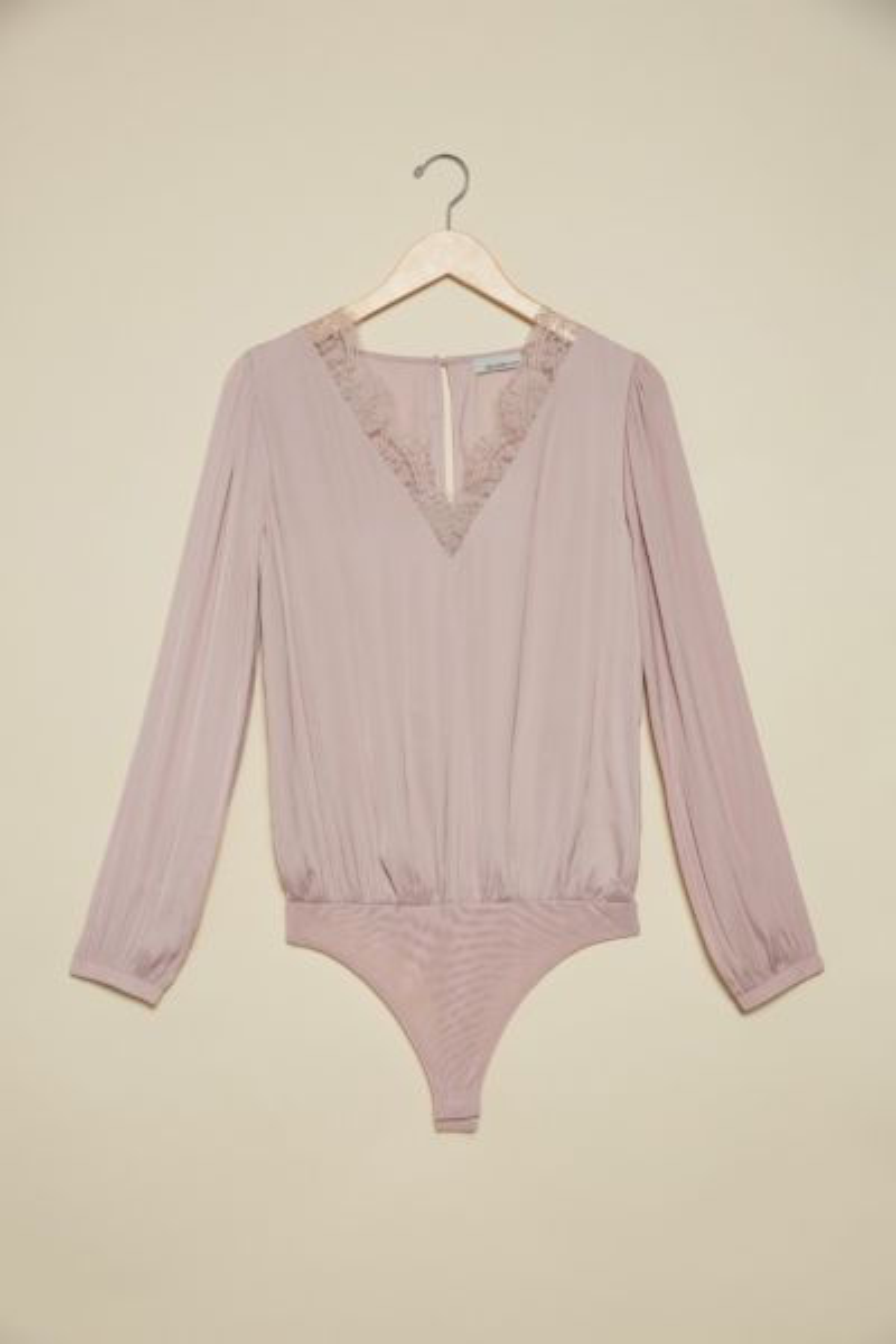 Allison joy Poppy Lace Trim Bodysuit