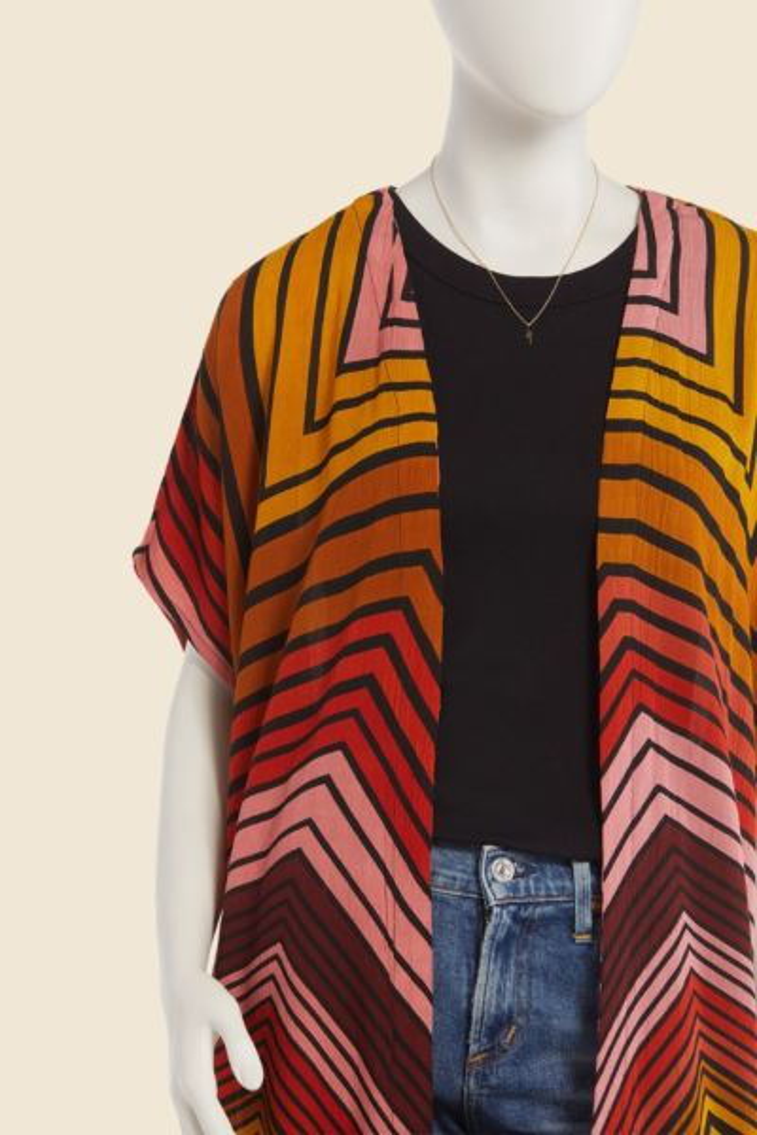 Billabong Sunburnt Sky Maxi Kimono