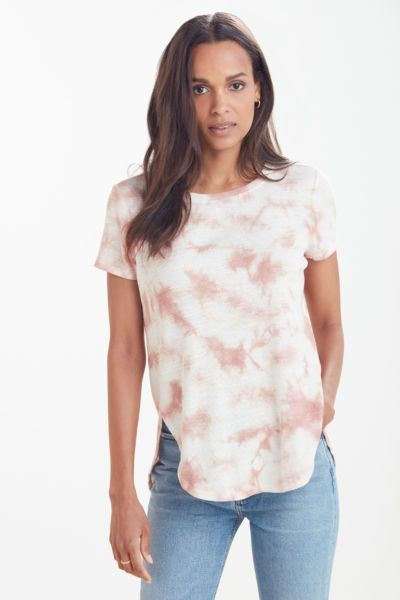 Z supply Tove Cloud Dye Slub Rib Tunic Tee
