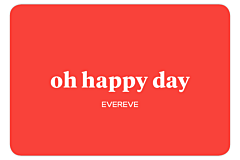 Oh Happy Day Gift Card