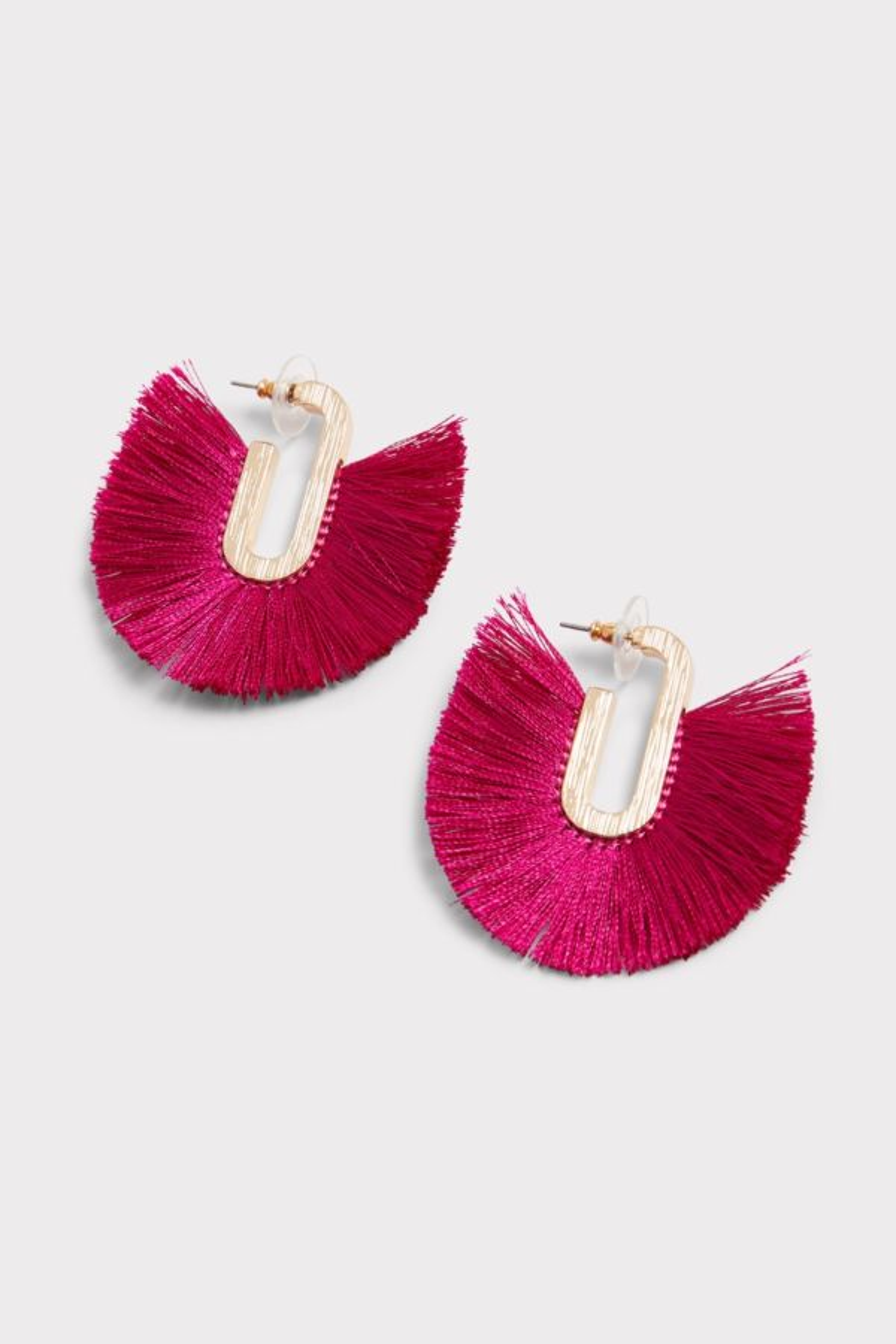 Thirty-nine 42 Jonah Fringe Hoop Earrings