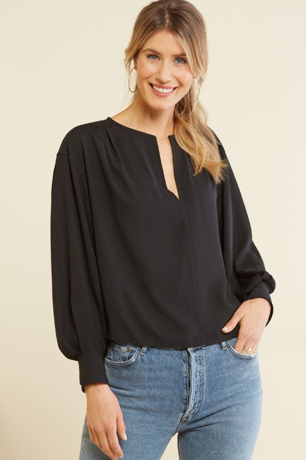 Allison joy Tess Blouson Sleeve Top