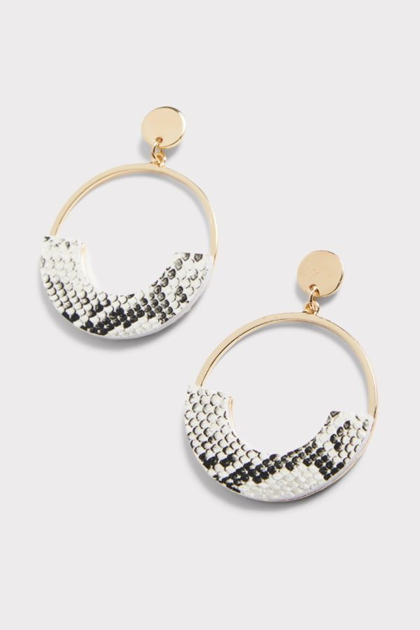 Thirty-nine 42 Braelynn Snake Geo Earrings