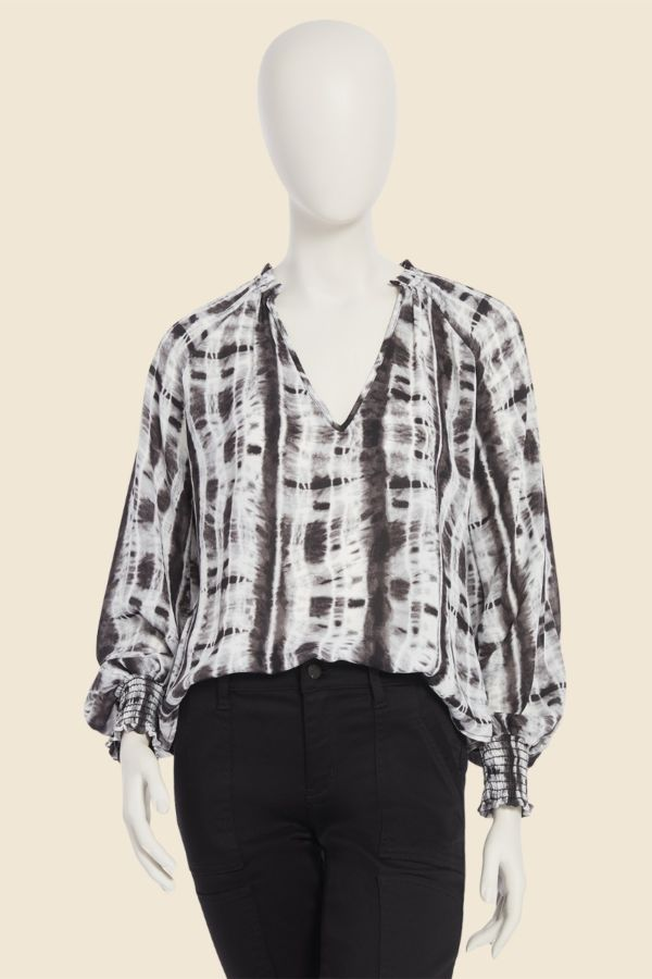 Allison joy Blair Tie Dye Blouse