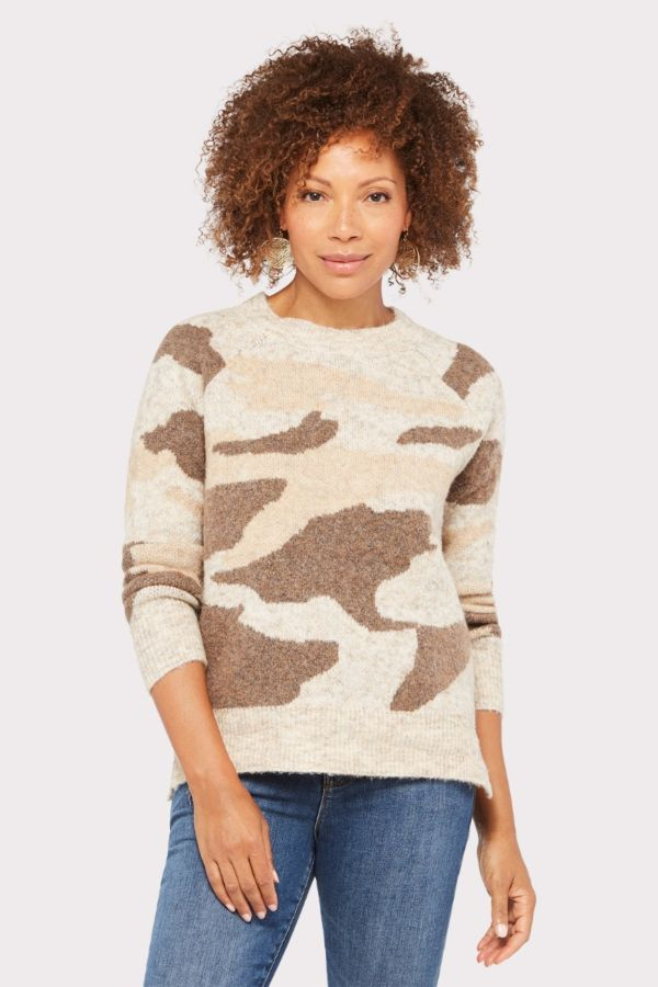 Rd style Neutral Camo Pullover