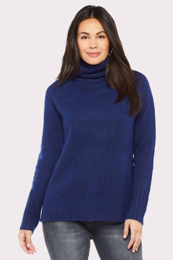 Rd style Carson Tunic Turtleneck Pullover