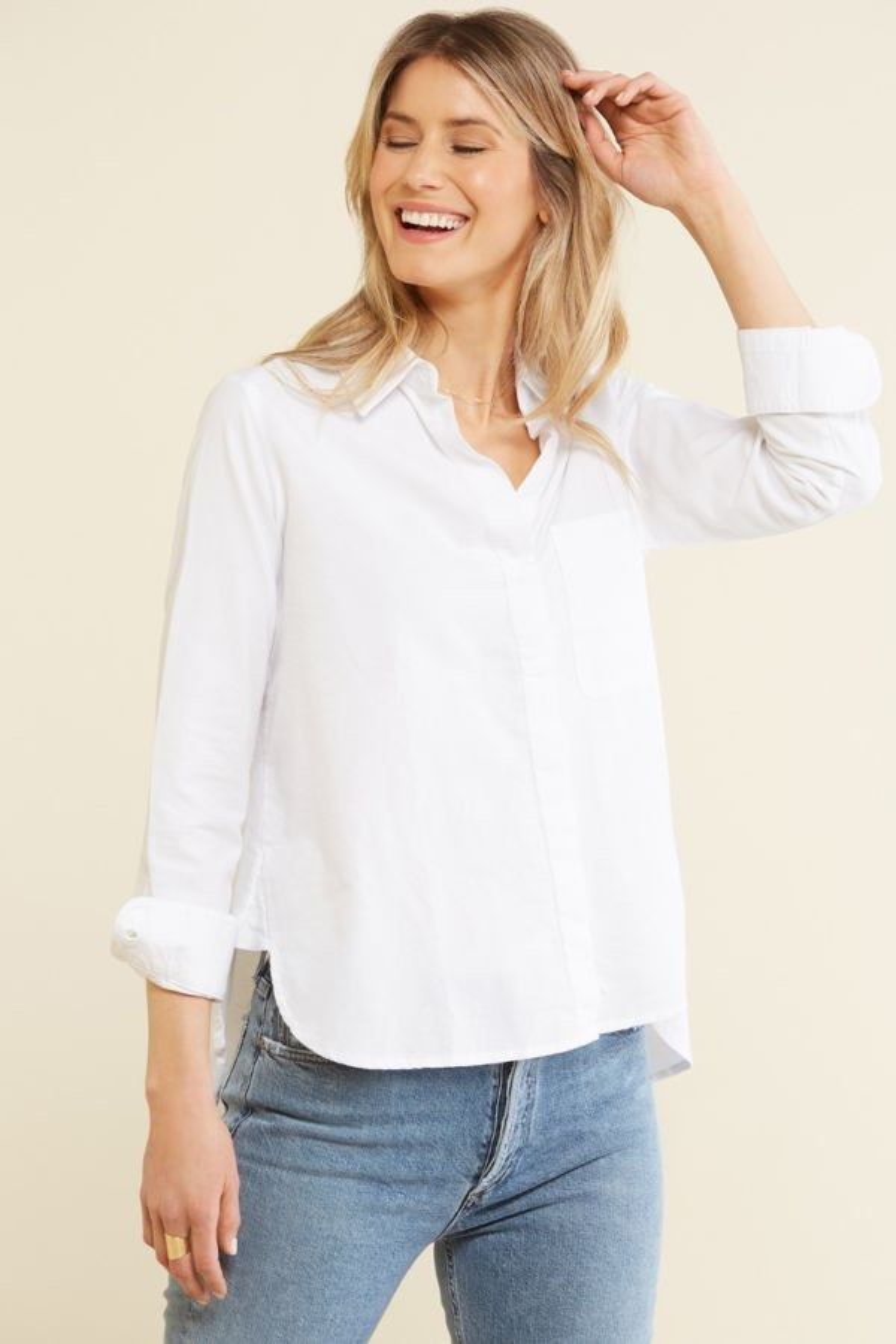 French connection Oxford Boyfriend Shirt