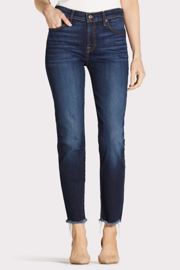 7 for all mankind Roxanne Ankle with Fray Hem