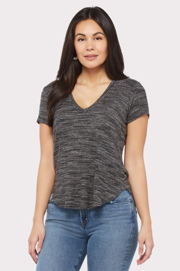 Cloth and stone Brushed Easy V Neck Tee