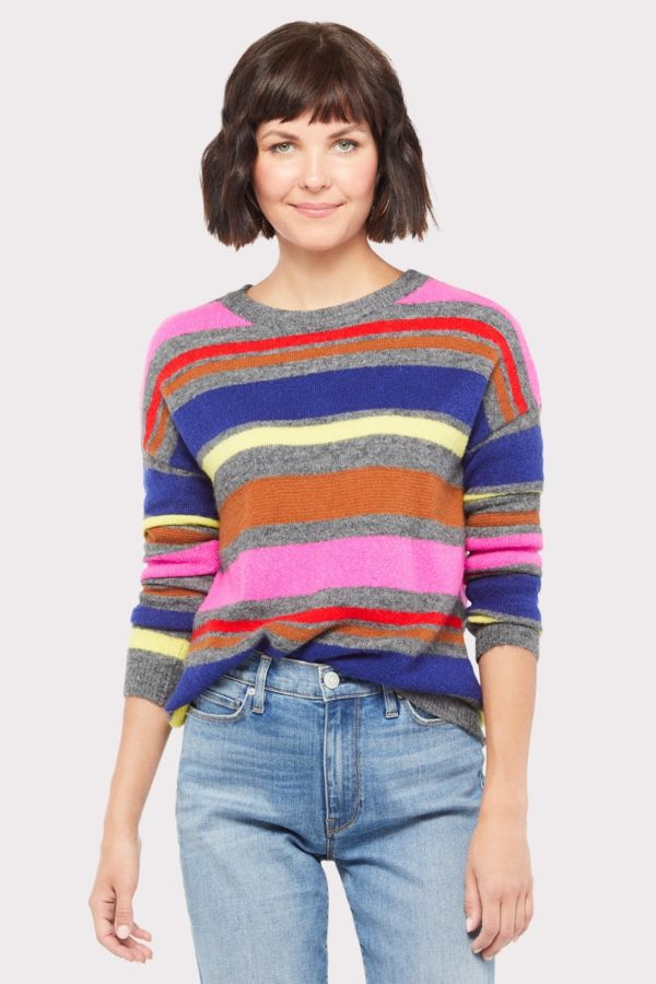 Stitches and stripes Marnie Striped Sweater