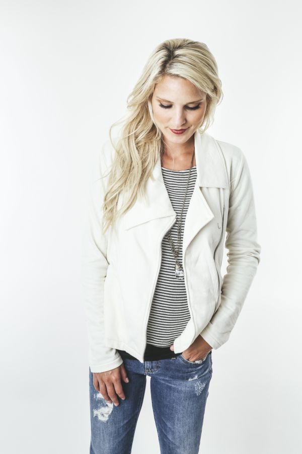 Element Founded Side Zip Terry Blazer