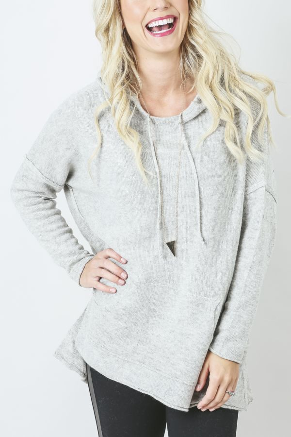 Lovestitch Hooded Pullover Sweater