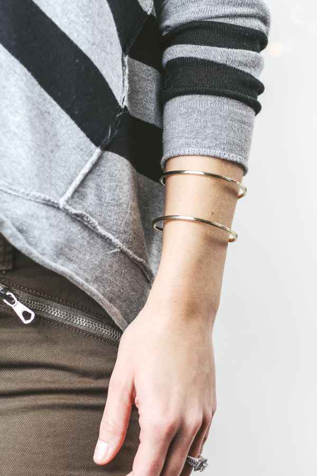 Skyline Abstract Cuff Bracelet
