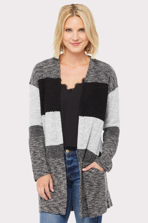Peyton jensen Hadlee Striped Cardigan