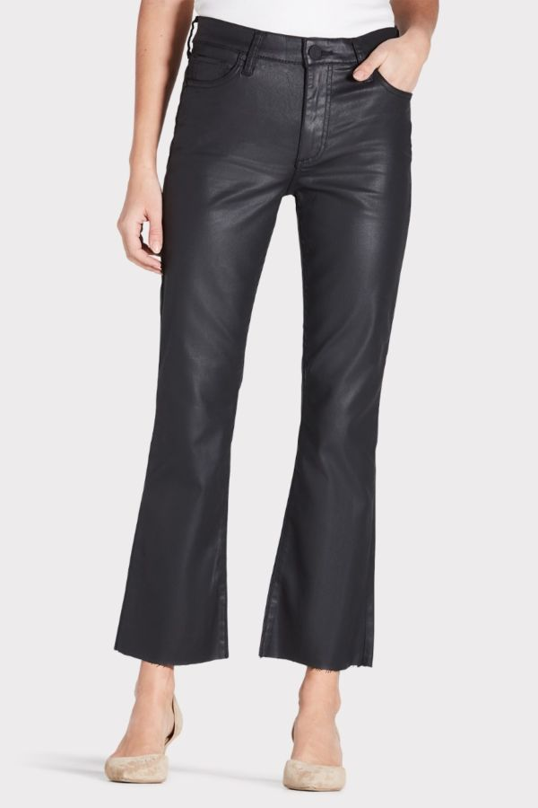 Kut from the kloth Kelsey Coated High Rise Ankle Flare