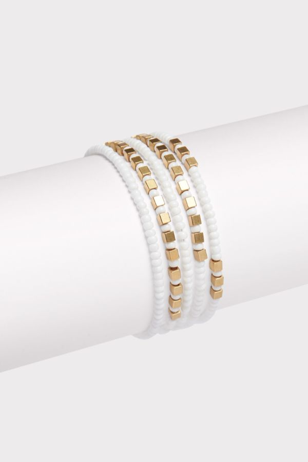 Thirty-nine 42 Sara Beaded Bracelet Stack