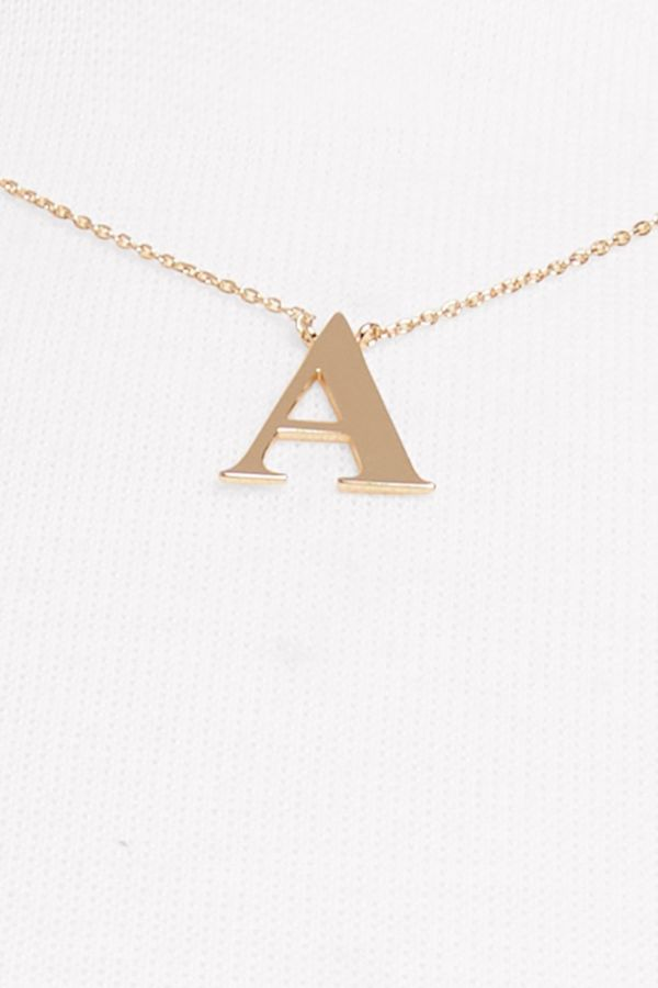 Thirty-nine 42 Effie Initial Necklace