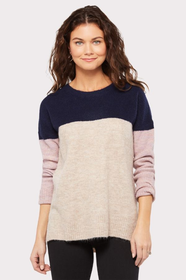 Allison joy Cody Color Block Sweater