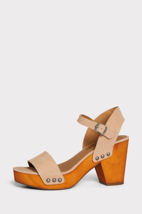 Lucky Trisa Wood Sandal